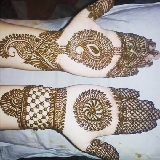 Rajasthani Full Hand Mehndi Designs In 2018