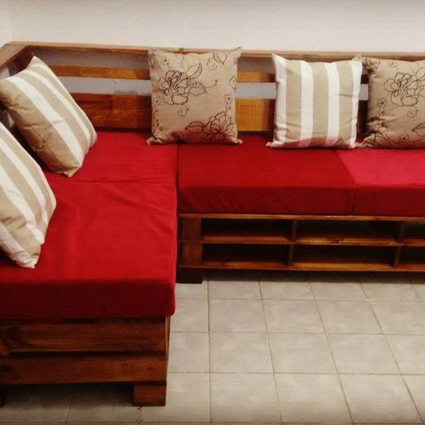 DIY Pallet storage boxes, Pallet sofas, and tables: