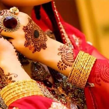 Bridal Backhand Mehndi Design Ideas