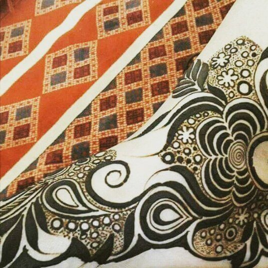 henna designs for feet step by step