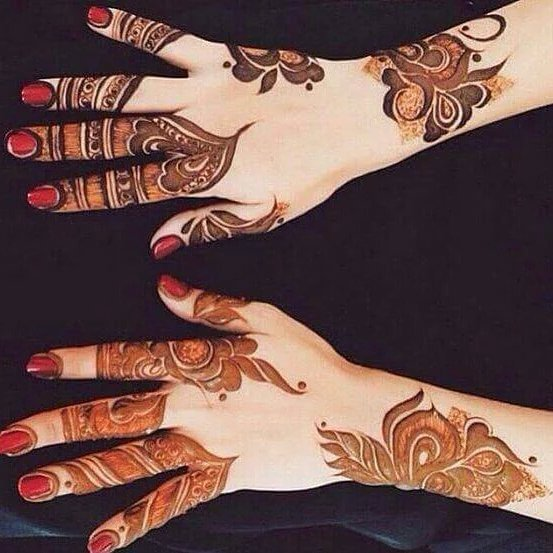 Best 25+ Finger mehndi design ideas