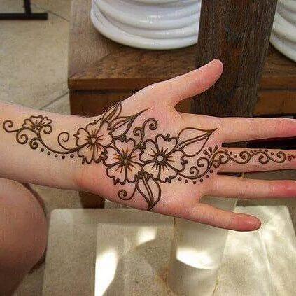 front hand mehndi designs 2014