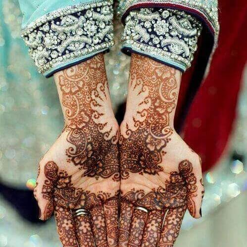 rajasthani mehndi designs for hands step by step