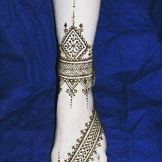 rajasthani mehndi designs for arm step by step