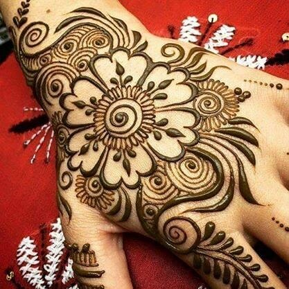 cute mehandi design