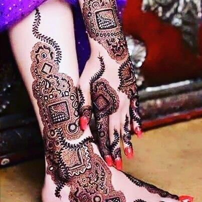 Feet Mehndi Design | Leg henna Design | Arabic Feets Mehndi