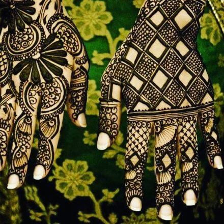 eyecatching and beautiful mehandi