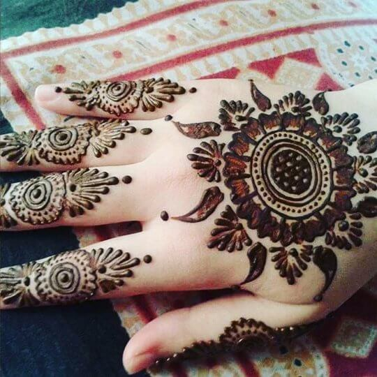 101 Beautiful Back Hand Mehndi Designs That You Can Do By Yourself
