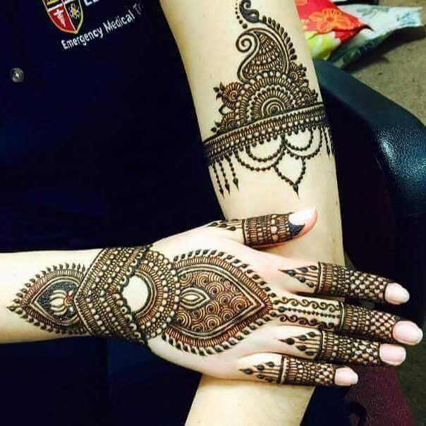the perfect mehndi 2018