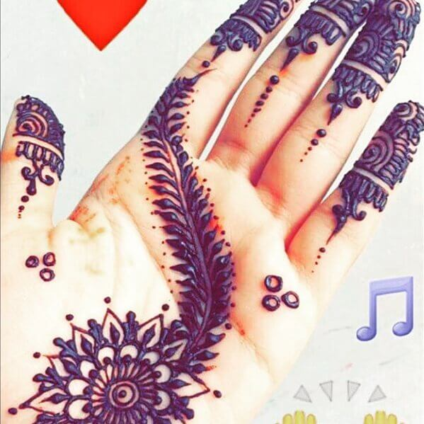 rajasthani mehndi designs for hands bail