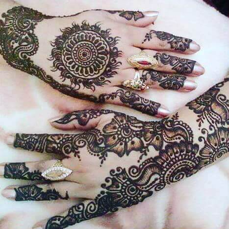 bridal mehandi 2018 trends