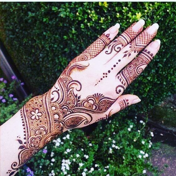 61 Easy Simple And Traditional Henna Arabic Mehndi Designs Sensod