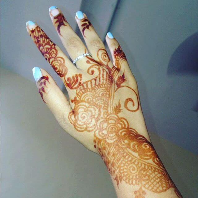 arabic mehndi designs for Right hand