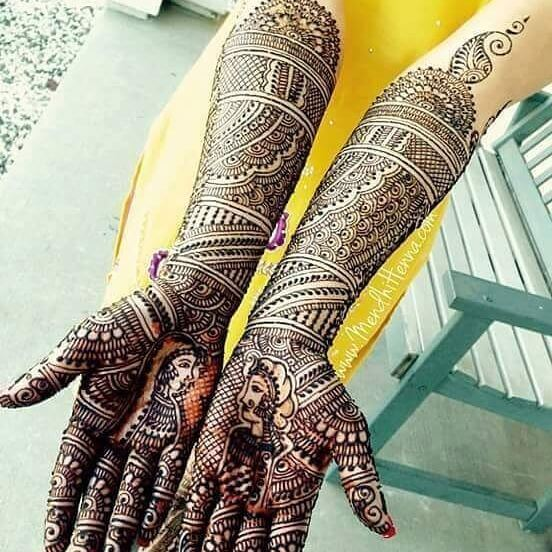 Simple Arabic Mehandi Designs For Girls Sensod