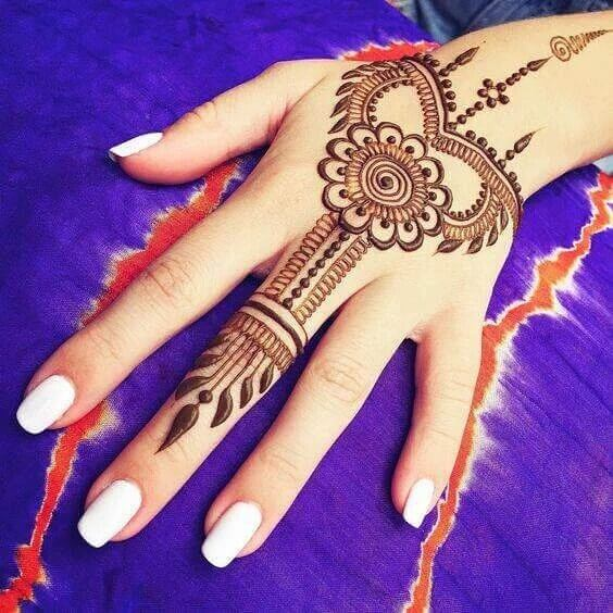 61 Easy Simple And Traditional Henna Arabic Mehndi Designs In 2018