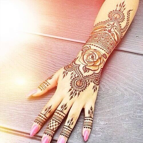 Stunning Mehndi Designs For Arms In 2018