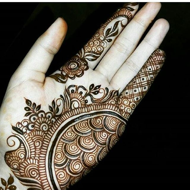 beautiful mehandi design 2018 trends