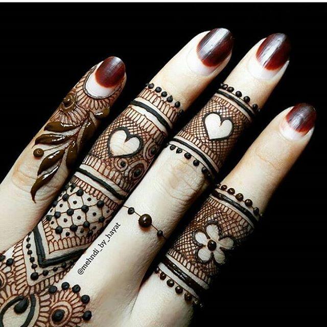 finger mehandi