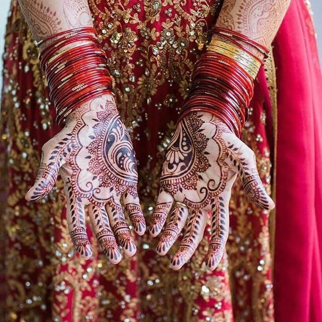 heavy both hands mehndi design