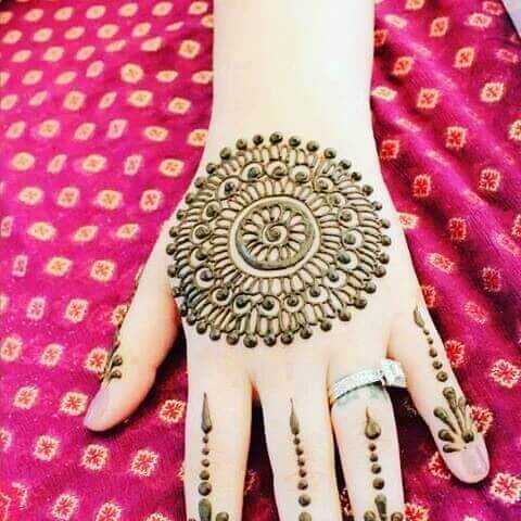 araibic henna designs for beginners step by step
