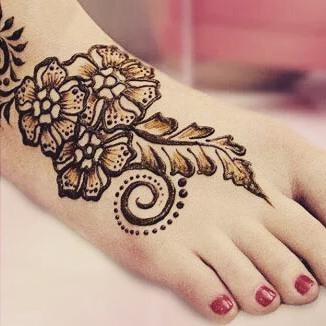 arabic bridal mehndi designs for foot