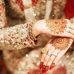 indian both hands bridal henna designs