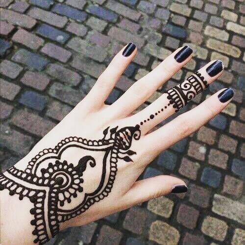 mehandi designs for brides