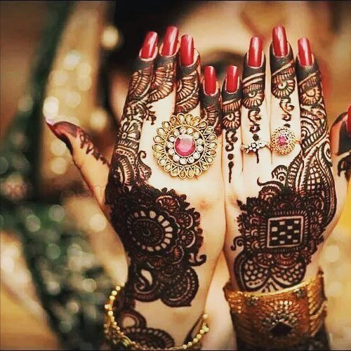how to mehndi designs for both hands