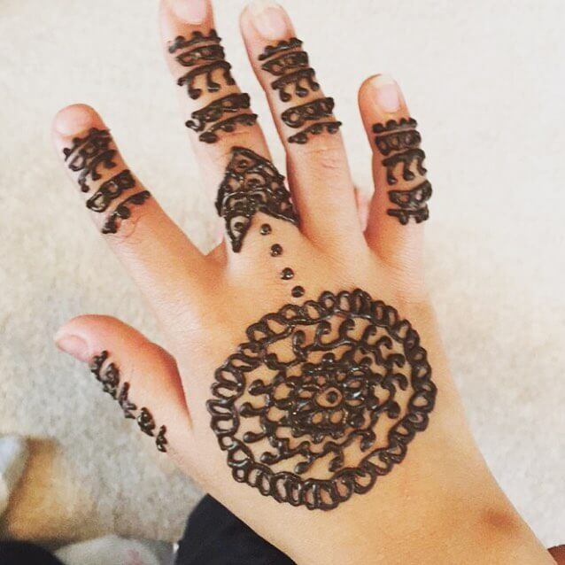 mehndi for kids