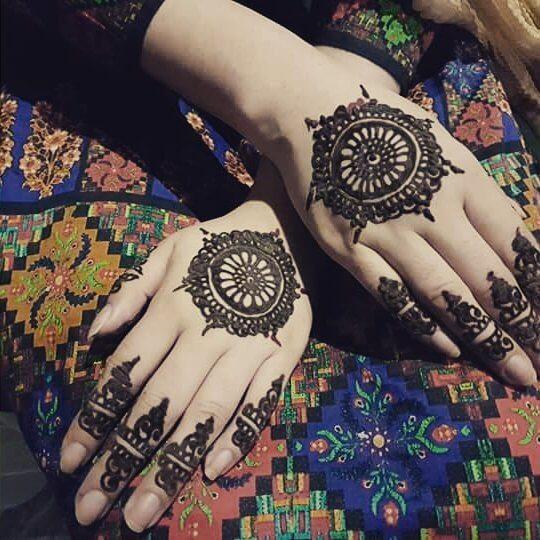 Stunning Mehndi Designs For Full Hands on Sensod