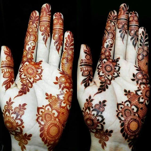 mehndi artistica designs for both hands