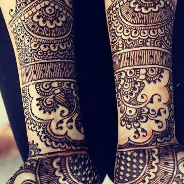 Bridal Mehandi Designs For Full Hands Front And Back Sensod