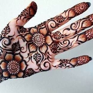 mehandi designs perfect for 2018