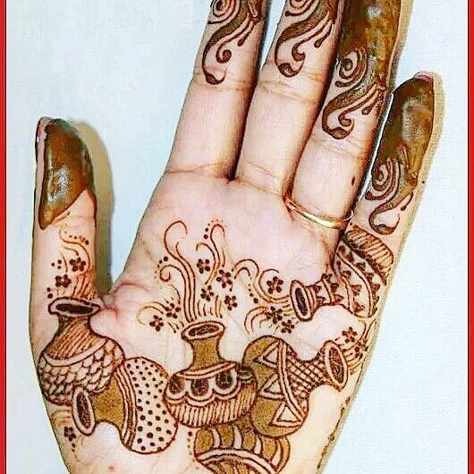 Creative mehndi designs easy and simple