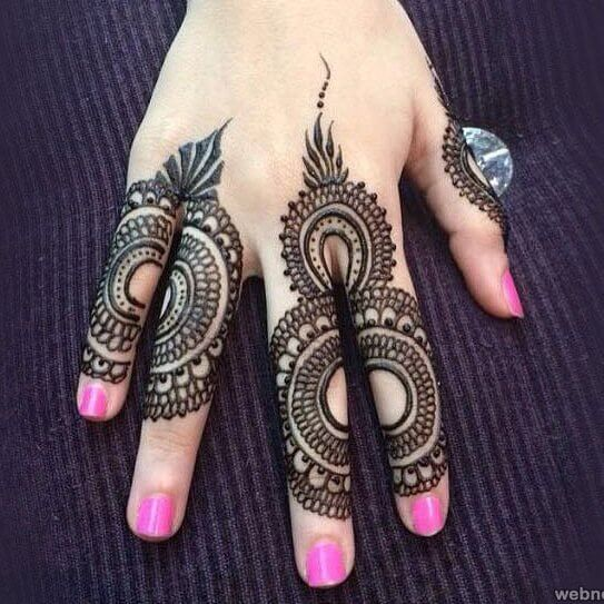 latest 2018 henna trends