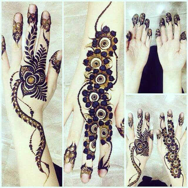 bridal mehandi art