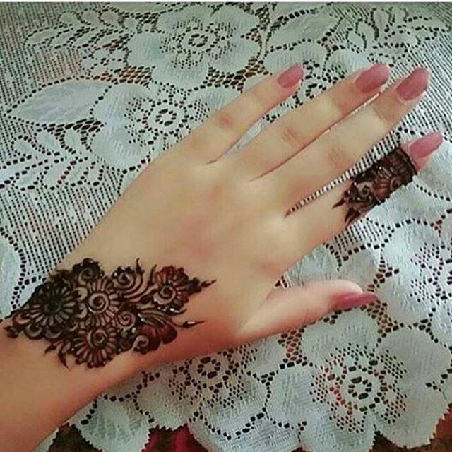 20 Beautful Henna Designs For Nikah: Compilation Of 20+ Beautiful Mehandi Designs For Your