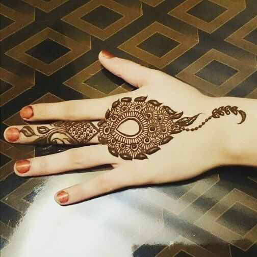 55 New Mehndi Design Images For Kids Sensod