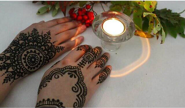 beautiful henna art
