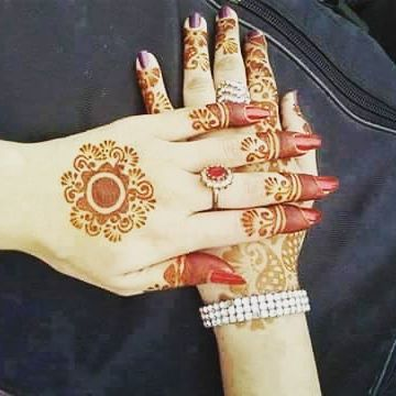 mehndi designs 2018 for children's hand
