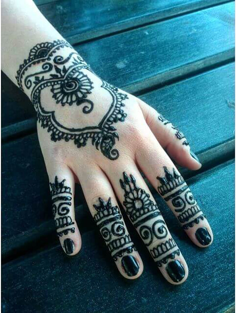 backhand beautiful 2018 mehndi design