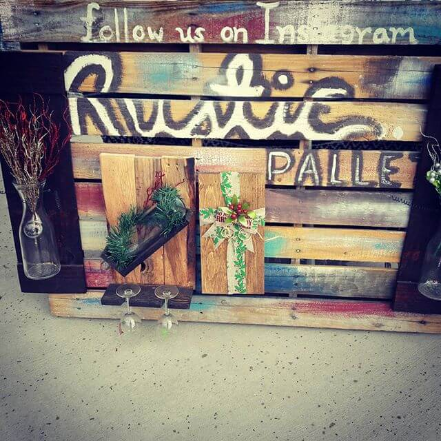 DIY customized Pallet Wood sayings and signs