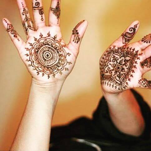 front hand mehndi design for kids in 2018