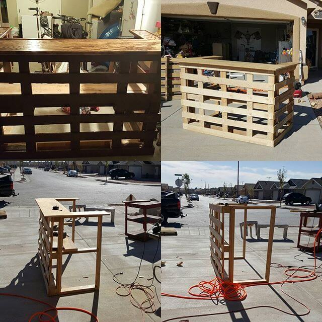 Jack and trendy pallet tables