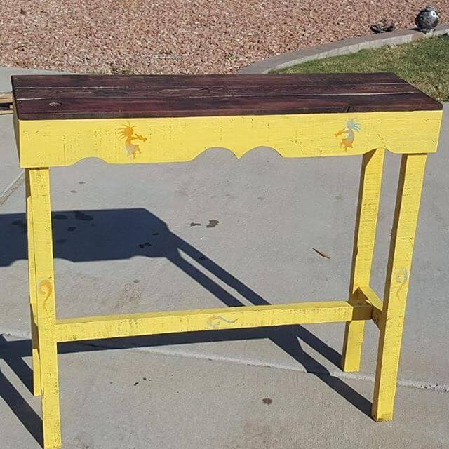 Handmade cheap pallet tables