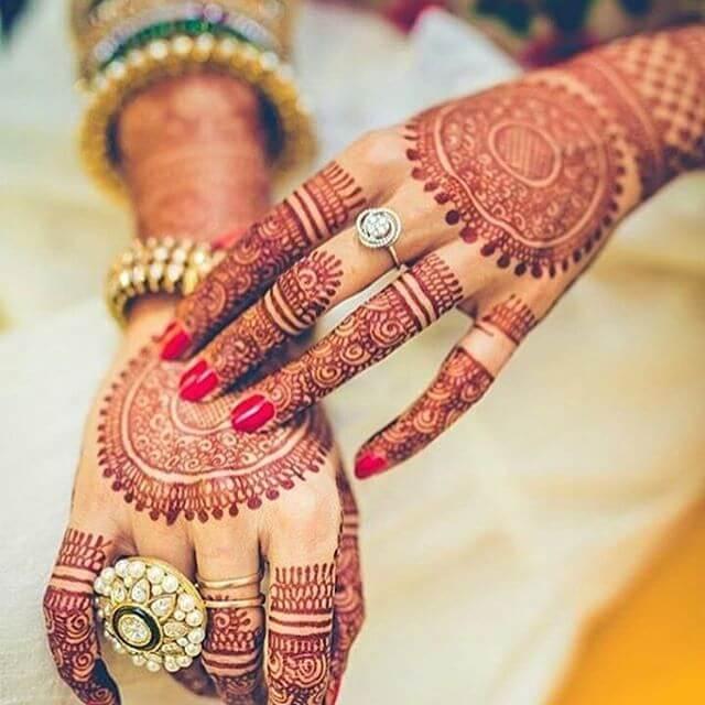 the latest trends in bridal mehndi design