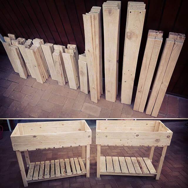 Unique furniture idea with pallet