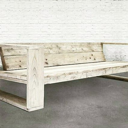 DIY pallet sofa easily built and handy pallet project: