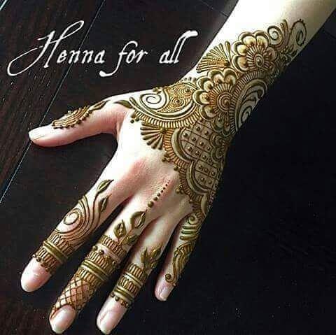 beautiful backhand mehanadi design