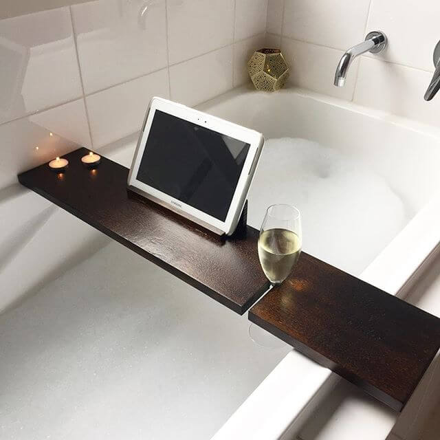 beautiful pallet tub tray from reclaimed pallet